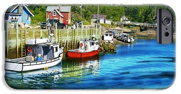 Village iPhone Cases - Nova Scotia iPhone Case by Robin EL-Hachem