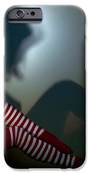 Nude Shadow  iPhone Case by Steven  Digman