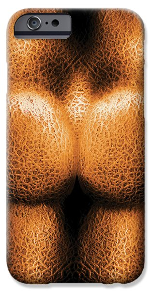 Nudist - Just Cheeky iPhone Case by Mike Savad