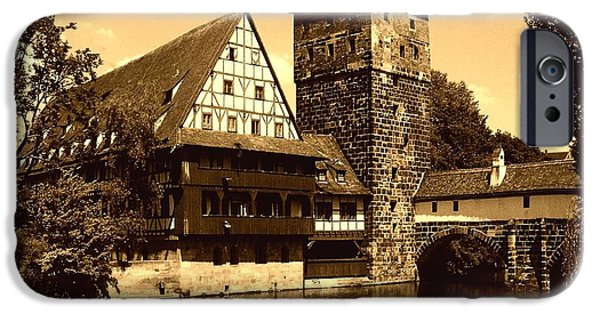 Hangman iPhone Cases - Nuremberg iPhone Case by Juergen Weiss