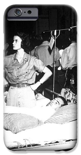Nurse Adjusts Glucose Injection iPhone Case by Stocktrek Images