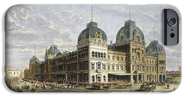 42nd Street iPhone Cases - Nyc: Grand Central Station iPhone Case by Granger