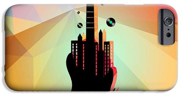 Animation iPhone Cases - Nyc Music  iPhone Case by Mark Ashkenazi
