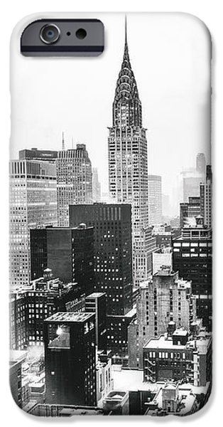 Snowy iPhone Cases - NYC Snow iPhone Case by Vivienne Gucwa