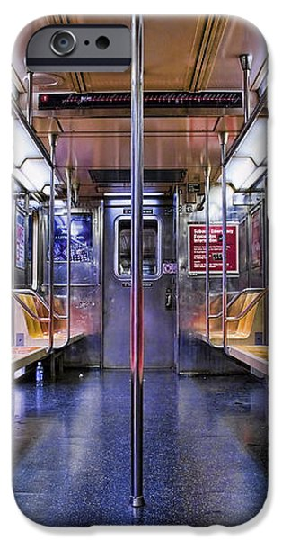 NYC Subway iPhone Case by Kelley King