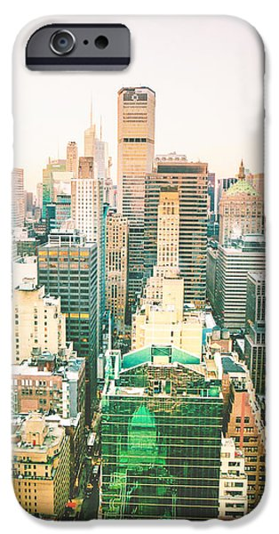 Buildings iPhone Cases - Nyc iPhone Case by Vivienne Gucwa