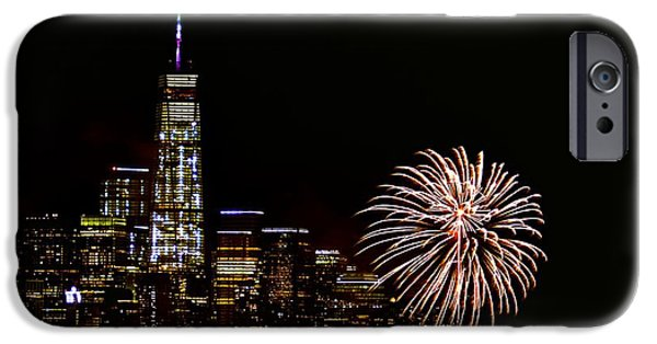 Empire State iPhone Cases - Nyny iPhone Case by MingTa Li