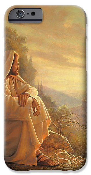 O Jerusalem iPhone Case by Greg Olsen