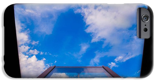 Michelle iPhone Cases - Sky view iPhone Case by Michelle Jakelj