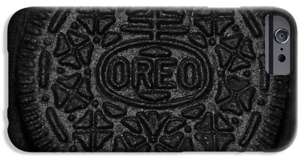 Oreo iPhone Cases - O R E O iPhone Case by Rob Hans