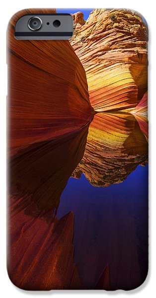 Coyote iPhone Cases - Oasis iPhone Case by Chad Dutson