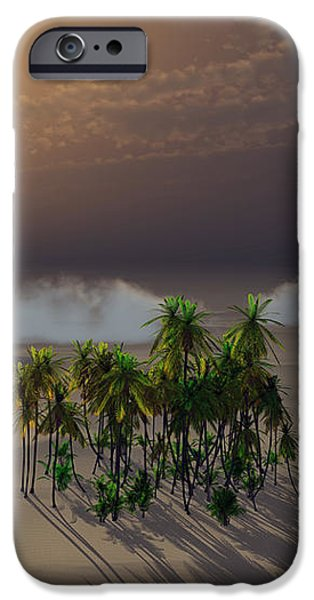 Oasis iPhone Case by Richard Rizzo