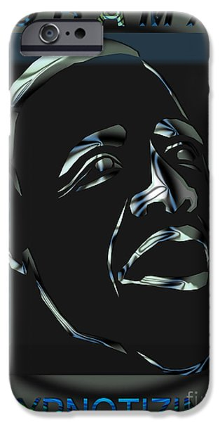 Obama iPhone Cases - Obama 21 iPhone Case by Dalon Ryan