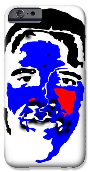 Obama iPhone Cases - Obama 9 iPhone Case by Dalon Ryan