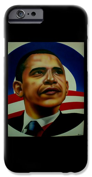 44th President iPhone Cases - Obama iPhone Case by Brett Sauce