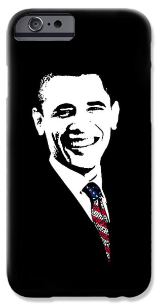 44th President iPhone Cases - Obama iPhone Case by War Is Hell Store