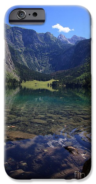 Spectacular iPhone Cases - Obersee iPhone Case by Nailia Schwarz