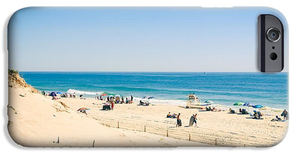 Morning iPhone Cases - Ocean Beach iPhone Case by Colleen Kammerer