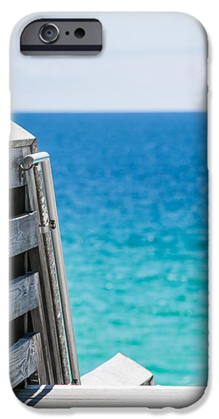 Shade Cover iPhone Cases - Ocean Blues iPhone Case by Shelby  Young