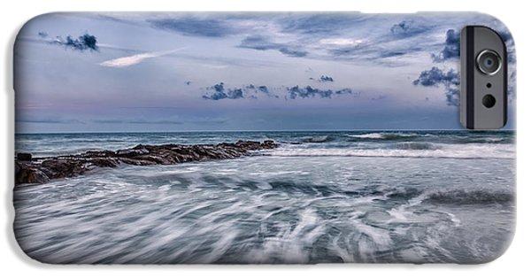 Beach Landscape iPhone Cases - Ocean II iPhone Case by Christine Martin-Lizzul