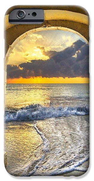 Ocean View iPhone Case by Debra and Dave Vanderlaan