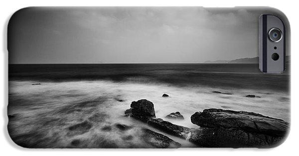 Drama iPhone Cases - Oceanside iPhone Case by Craig Ferguson