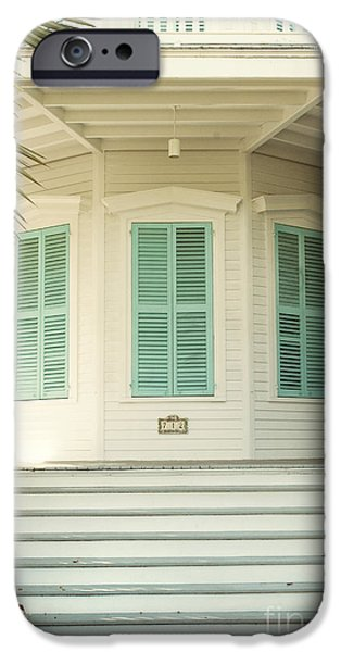 Florida House Photographs iPhone Cases - Octagon House iPhone Case by Juli Scalzi