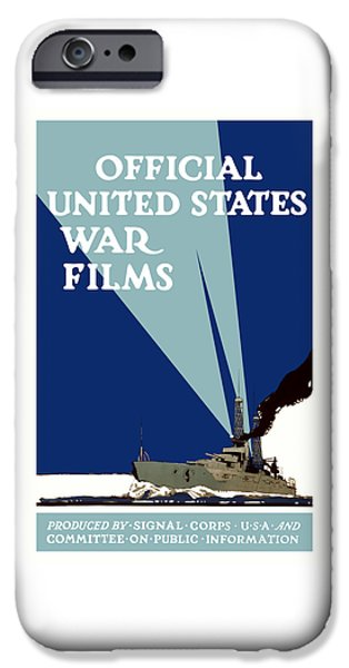Wwi iPhone Cases - Official United States War Films iPhone Case by War Is Hell Store