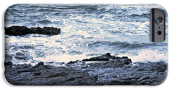 Tidal Photographs iPhone Cases - Ogmore tides iPhone Case by Andrew Read