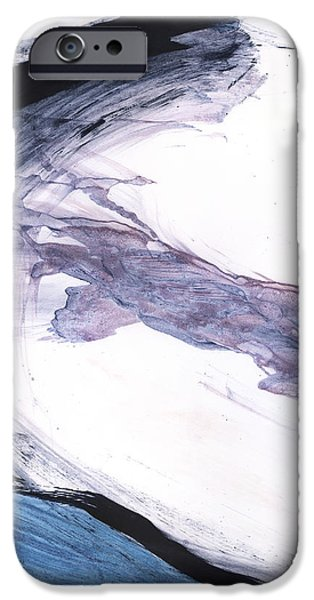 Abstract Expressionism iPhone Cases - Oil and Water #39 iPhone Case by Justin Crabtree