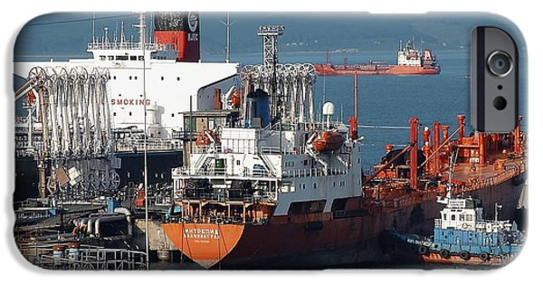 Technological iPhone Cases - Oil Tanker iPhone Case by Ria Novosti