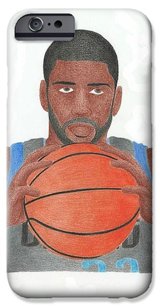 O.J Mayo iPhone Case by Toni Jaso