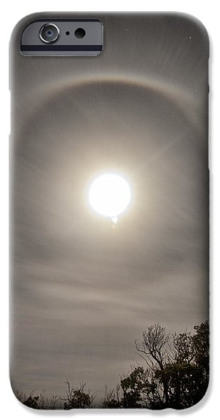 United States iPhone Cases - Oklahoma Full Moon number 3 iPhone Case by Tyler Ross