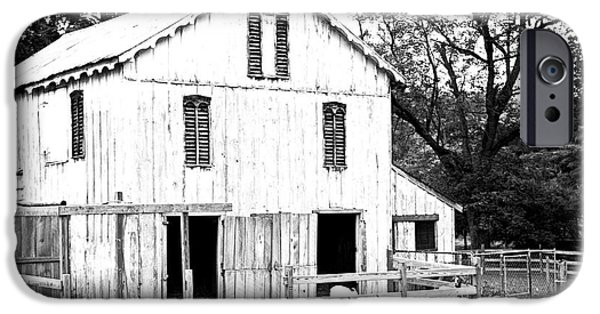 Old Barn iPhone Cases - Ol Barn iPhone Case by Alison Belsan