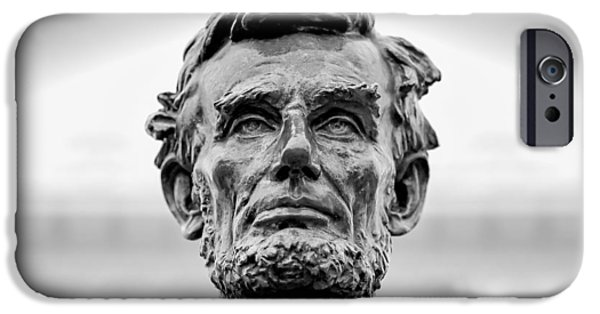 Statue Portrait iPhone Cases - Old Abe iPhone Case by Todd Klassy