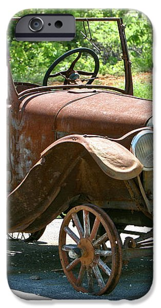 Old Antique Vehicle iPhone Case by Douglas Barnett