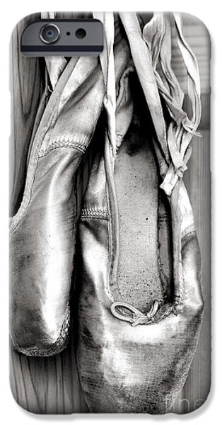 Old ballet shoes iPhone Case by Jane Rix