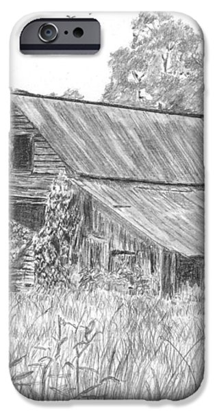 Old Barn 4 iPhone Case by Barry Jones