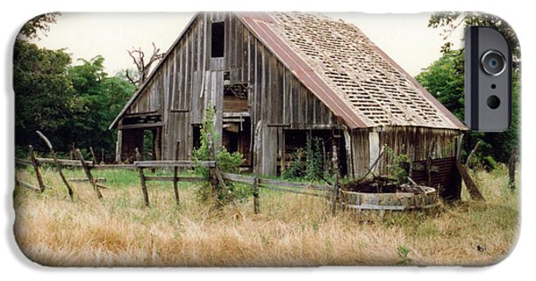 Mounds iPhone Cases - Old Barn  iPhone Case by Ruth  Housley