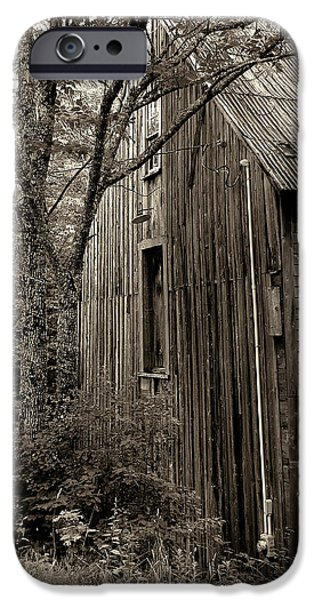 Grist Mill iPhone Cases - Old But Not Forgotten iPhone Case by Kathleen Sartoris