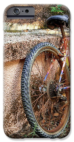 Old Bycicle iPhone Case by Carlos Caetano