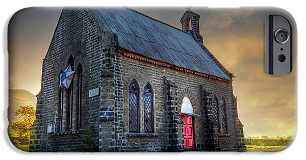 Church iPhone Cases - Old Church iPhone Case by Charuhas Images