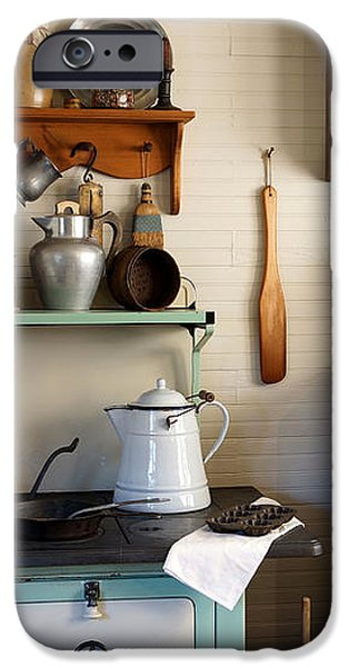 Old Country Kitchen iPhone Case by Carmen Del Valle