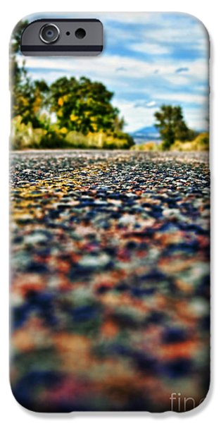 Old Country Road iPhone Case by Ray Laskowitz - Printscapes