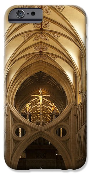Old English Style Cathedral iPhone Case by Heiko Koehrer-Wagner