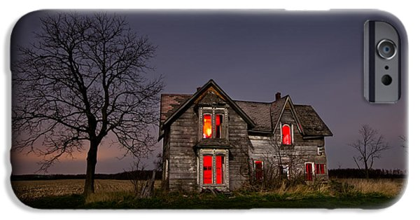 Abandoned iPhone Cases - Old Farm House iPhone Case by Cale Best