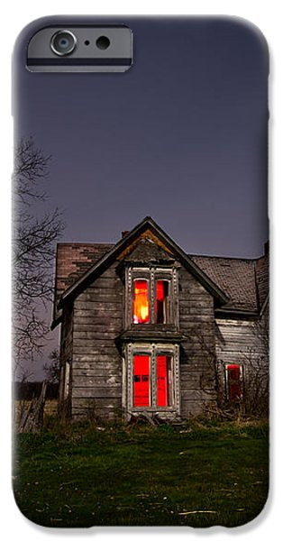 Old Farm House iPhone Case by Cale Best