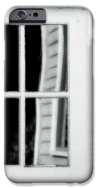 Old Garage Door iPhone Case by Bonnie Bruno