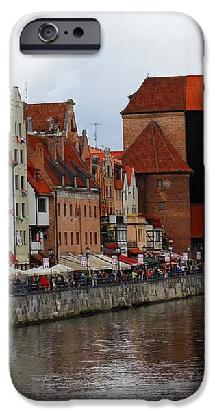 Old Gdansk Port Poland iPhone Case by Sophie Vigneault