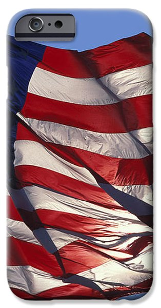 Old Glory iPhone Case by Carl Purcell